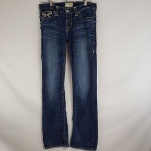 BIG STAR Medium Wash Horeshoe Boot Cut Jeans